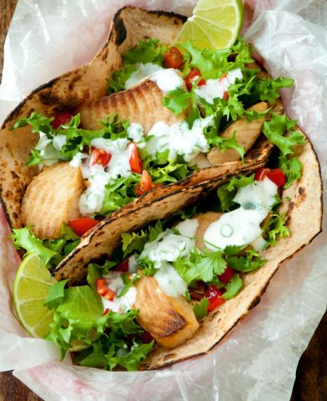 Simple fish tacos | MummyPages.MummyPages.uk