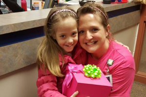 This teacher did something truly remarkable for this sick eight-year-old girl