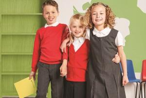 A school uniform that matches M&S for quality... and it costs just £4