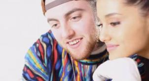 Mac Miller totally GUSHES about his new girlfriend Ariana Grande on the radio