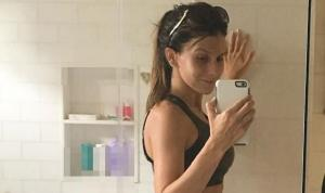 'If nothing appeals to you, unfollow': Hilaria Baldwin hits back at 'post-baby body' critics