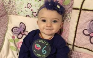 Grieving mum launches 'purple hat' campaign to prevent child abuse