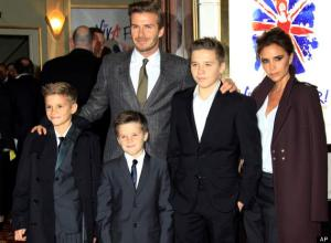 Simon Cowell wants to sign one of the Beckham boys to his LABEL
