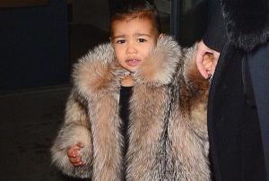 North West was a flower girl this weekend and we CANT cope