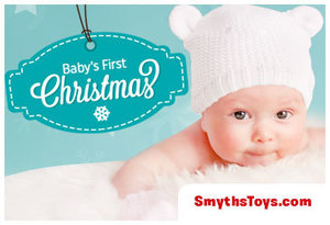 Get everything you need to make your baby's first Christmas extra special