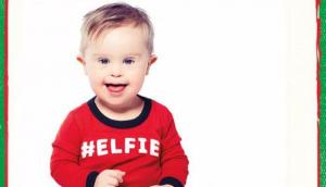 Clothing brand features boy with Down syndrome in Christmas advert