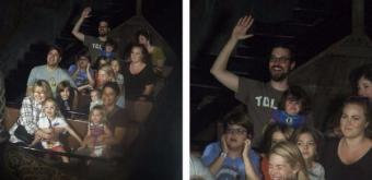 Bless! One-year olds HILARIOUS reaction to Frozen ride has gone viral