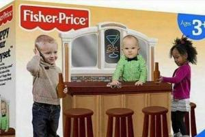 Twitter goes into meltdown over 'Fisher-Price PUB set' for kids – but all is not as it seems