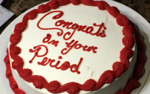 Mum throws a period party for her daughter, and it looked fab