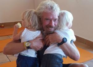 Sir Richard Branson is a grandfather again - and we LOVE the babys name