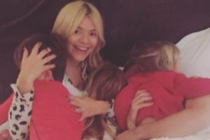 Being a mummy is my favourite job: Holly Willoughby is happiest at home with her kids