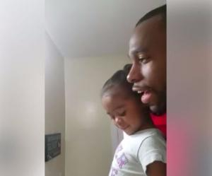 WATCH girl, 3, repeat her dads MOTIVATIONAL morning mantra